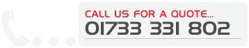 Call us on 01733 566200
